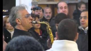 Immacolata2012.it - Pepito Sax - Ave Maria - Messa dei portatori, 8/12/2012