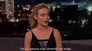 Brie Larson foi a babá de Jacob Tremblay nos bastidores do SAG Awards (Legendado)