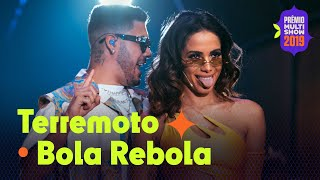 "Anitta, Kevinho, MC Zaac e Tropkillaz - ""Terremoto""  ""Bola Rebola""| AO VIVO no Prêmio Multishow 2019"