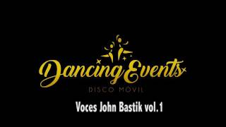 Voces John Bastik vol 1 128 bpm