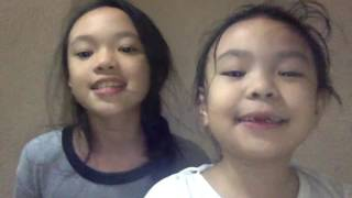 "Two Cuties Singing "" Moana - How Far I'll Go"""