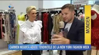 STIRILE KANAL D, Carmen Negoita recomanda vestele si hainele de blana Paisi pentru toamna 2016