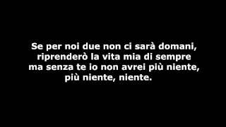 Amore Amaro - Lyrics