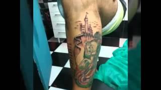 Tatuagem São Jorge ogum Zeca Pagodinho E Jorge Ben