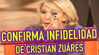 Laura Bozzo CAUSA POLÉMICA CONFIRMA INFIDELIDAD de Cristian Zuáres