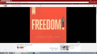 Pharrell Williams - Freedom (speed 1.5 remix)