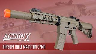 Review - Rifle de Airsoft M4A1 Tan CYMA