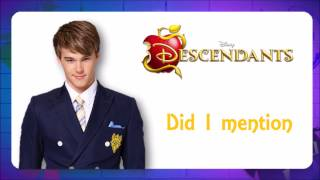 Descendants - Did I Mention (Traduction)
