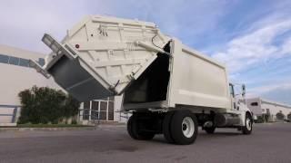 Camión recolector de basura - compactador carga trasera PT1000A