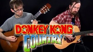 Donkey Kong Country Guitar Cover - Life In The Mines - Super Guitar Bros