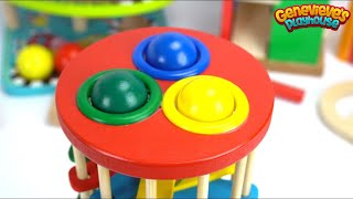 Learning Colors for Toddlers - Teach Babies with Toy Cars, Balls, Gumballs, More - 3/4 Hour Long!