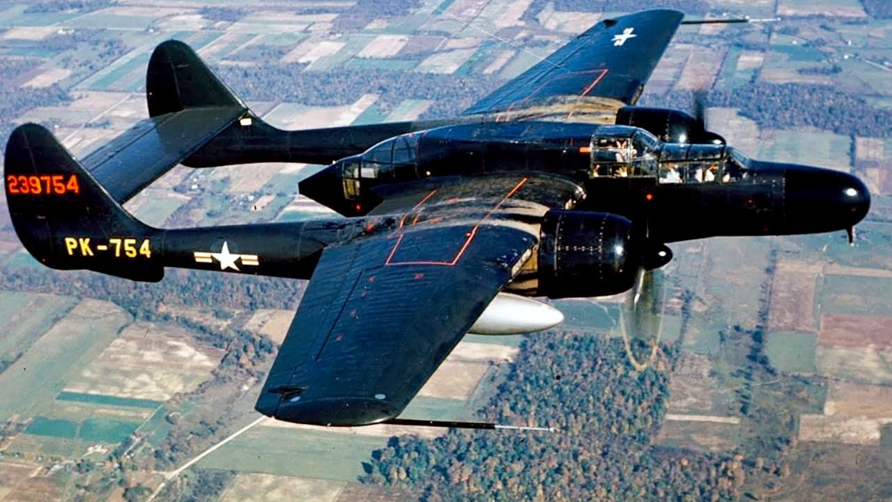 P-61 Black Widow Night Fighter