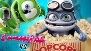 【Mashup】GummyBear VS Crazy Frog【I Am A Gummy Bear × Popcorn】