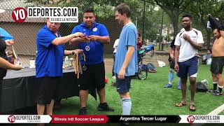 Argentina Tercer Lugar del Mundialito en Chicago