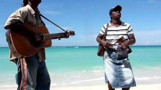 No Woman, No Cry - Negril Beach Music outside Legends Hotel