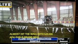 Can-Am Maverick Thrill Ride For Local Reporter