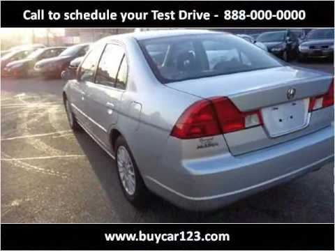 2001 Acura EL Used Cars Vancouver BC