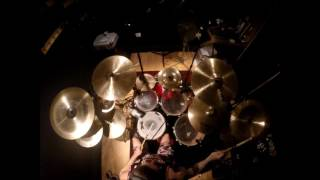 INTOXICATED BLOOD - Bloody elbows and splattered faces   drum cam  primitive