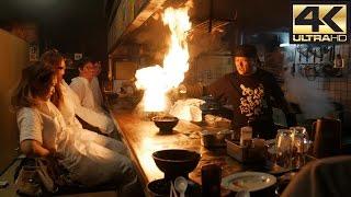 Fire Ramen Restaurant - Kyoto 4K