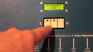 DecaBox MIDI to DMX Converter