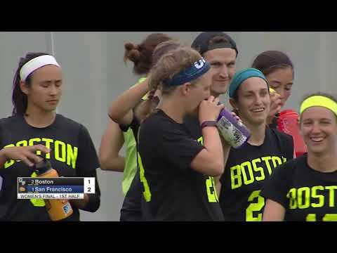 Video Thumbnail: 2018 U.S. Open Club Championships, Women's Final: San Francisco Fury vs. Boston Brute Squad