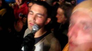 Eddy Current Suppression Ring (LIVE) at Meredith 09, singing in the crowd