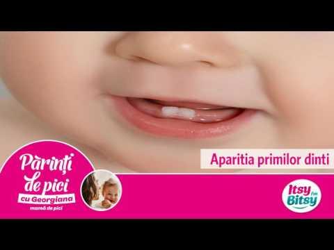 Aparitia primilor dinti