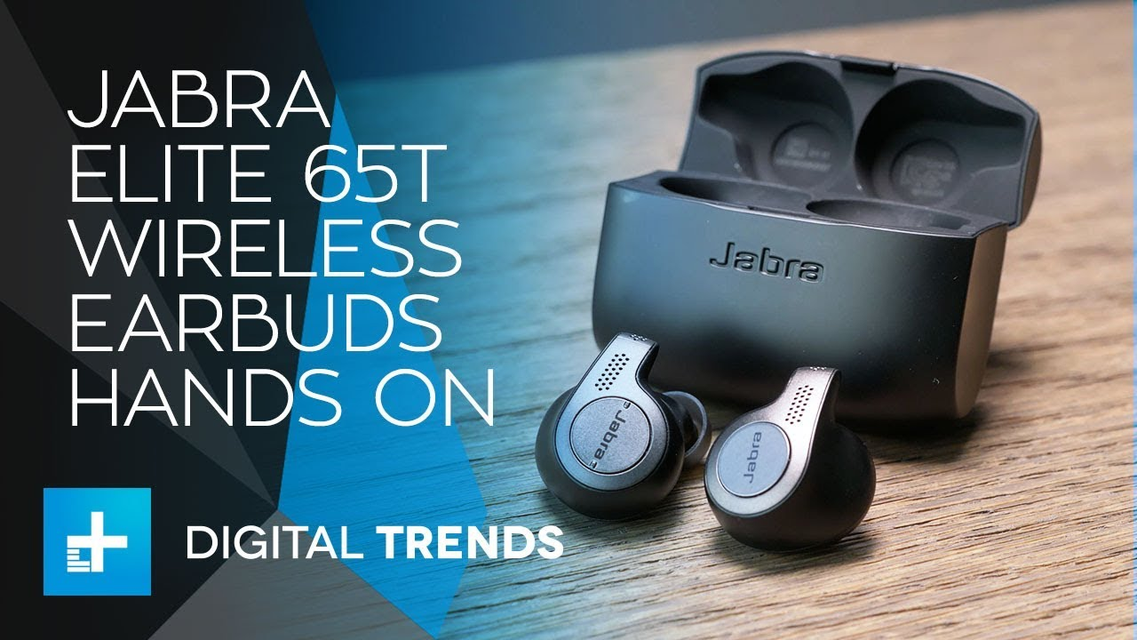 True Wireless Earbuds For Calls Music Jabra Elite 65t