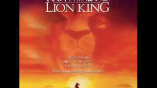 The Lion King soundtrack: Can You Feel the Love Tonight? (Portuguese)