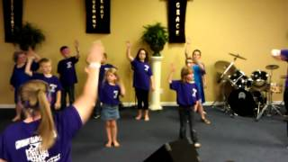 """J-rated youth kids Church dance Hillsong """"This Is How We Overcome"""""""