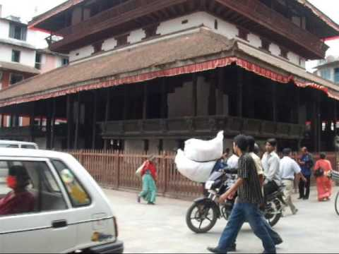 Kathmandu street scene, Nepal