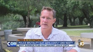 Navy surgeon's lawsuit claiming police brutality continues