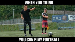 PARKOUR STORY - WHEN YOU THINK YOU CAN PLAY FOOTBALL