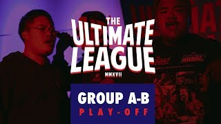 "TUL : GROUP A-B ""PLAY-OFF"" 