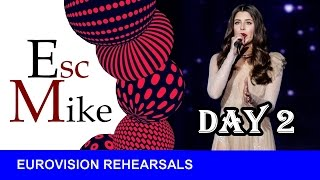 Eurovision 2017 - First Rehearsals [DAY 2] - My TOP 9 [1st Semi-Final]
