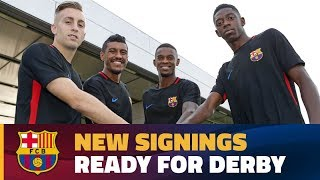 FC Barcelona - RCD Espanyol: New signings are ready!