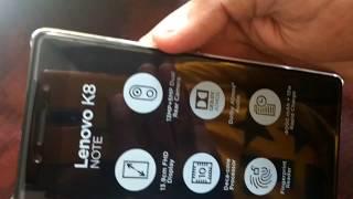 Lenovo K8 Note Unboxing : MP TubeCast