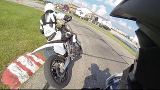 Supermoto Race at G&J Kartway