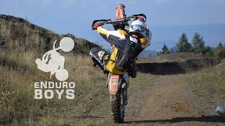 Enduro autumn day
