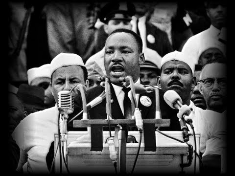 Martin Luther King - I Have a Dream on August 28, 1963 [transcriptions in English & en Français]