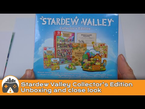 WTFF::: Stardew Valley - western collector\'s edition unboxing