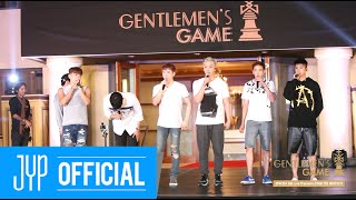 Behind of 2PM 'GENTLEMEN'S GAME' Live Premiere Rehearsal