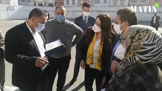 Ben M'sik- Casablanca : Installation du premier centre de vaccination anti-coronavirus