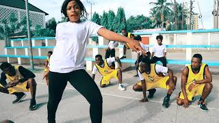 Skales Ft. Harmonize - FIRE WAIST (Official Dance Video)