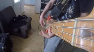 Iron Maiden - Sanctuary bass cover