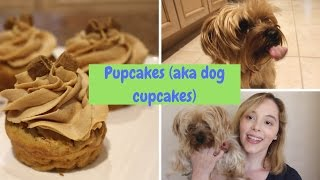 How to Make Pupcakes for Your Dog's Birthday (Dog Cupcakes)