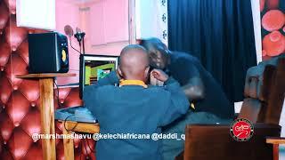 KELECHI AFRICANA,MARSH MASHAVU N DADDI Q IN THE STUDIO