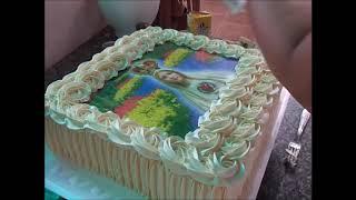 Bolo Nossa Senhora de Fátima #boloslindos #bolos #bolosdecorados