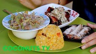 Carinderia Crawl E16: Mang Tootz's famous banana rhum-a dessert