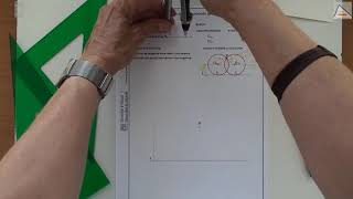 Imagen en miniatura para Circunferencias que pasan por un punto y son tangentes a una recta